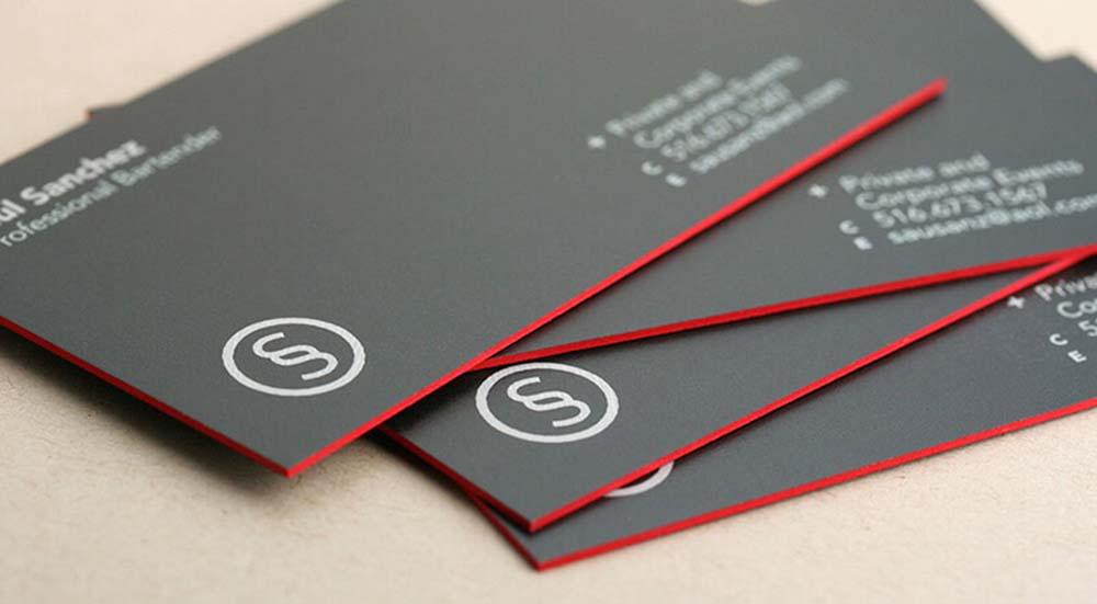 mẫu in card visit C002