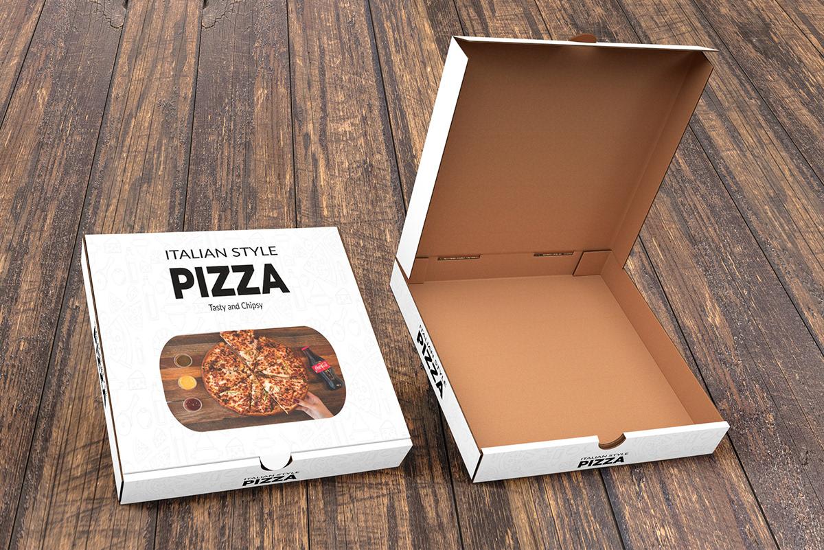 Hộp đựng bánh pizza Duplex