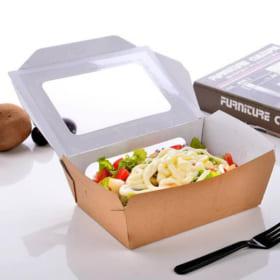 In hộp giấy đựng thức ăn nóng/ hộp giấy đựng đồ ăn nhanh