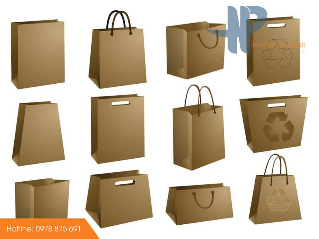 Quy cách thiết kế túi giấy