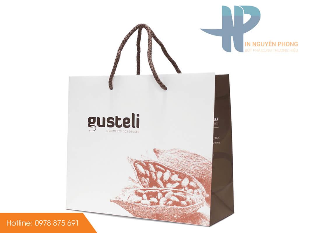 In túi giấy Duplex cho shop thời trang tại Hà Nội