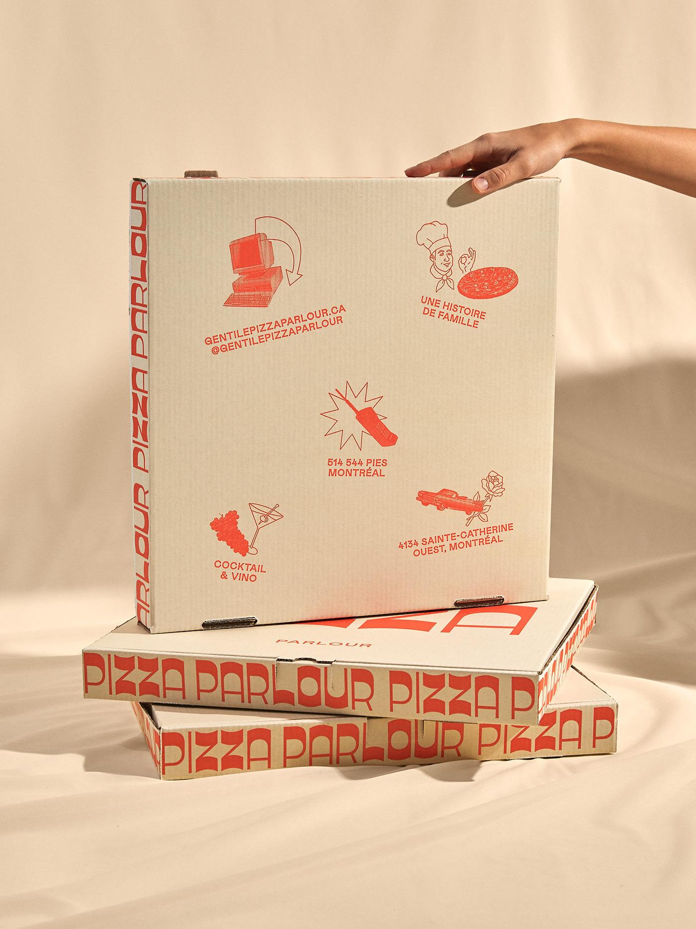Hộp đựng pizza sáng tạo