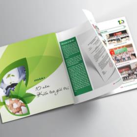 In catalogue tại Hà Nội ấn tượng và sáng tạo