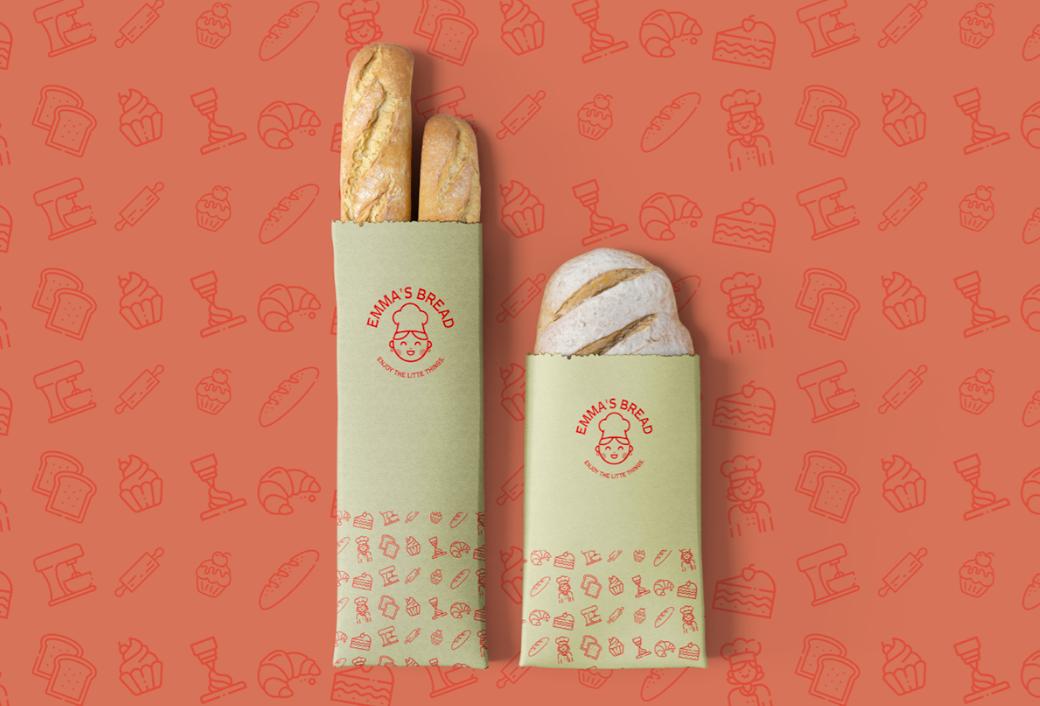 In túi đựng bánh mì đẹp