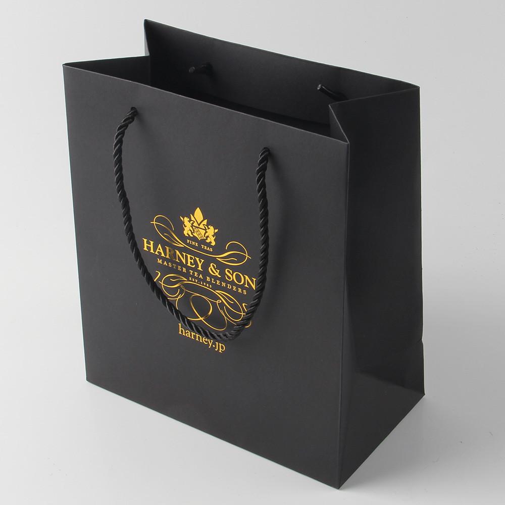 Túi giấy ép vàng 24k