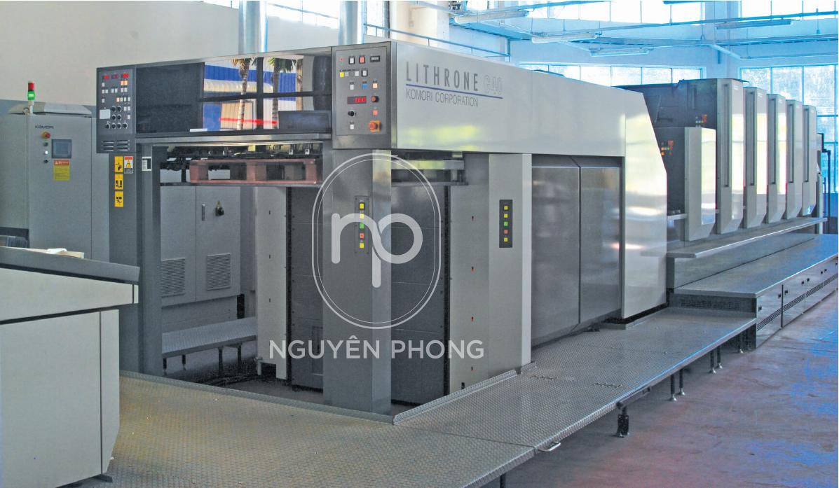 máy móc trang thiết bị in ấn